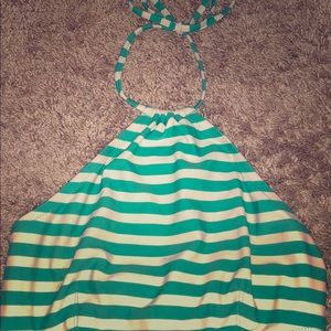 J CREW TRIANGLE SWIMSUIT TOP